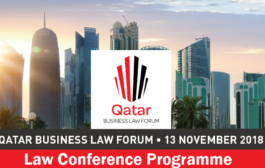 QATAR BUSINESS LAW FORUM - 13 NOVEMBER 2018