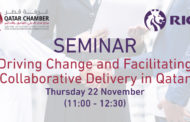Saminar | Driving Change and Facilitating Collaborative Delivery in Qatar