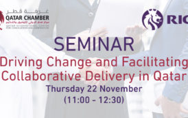 Saminar | Driving Change and Facilitating Collaborative Delivery in Qatar