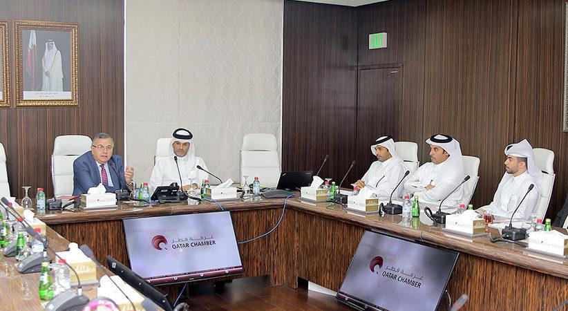 مركز قطر الدولي للتوفيق والتحكيم يستضيف متدربين من وزارة العدل