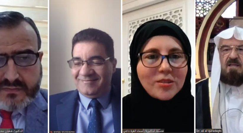 د. القره داغي يؤكد أهمية تحسين عقود التحكيم